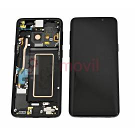 Samsung Galaxy S9 G960f Display + touch + frame preto GH97-21696A Service Pack