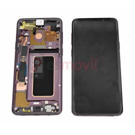 Samsung Galaxy S9 Plus G965f Display + touch + frame purpura GH97-21691B Service Pack