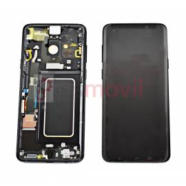 Samsung Galaxy S9 Plus G965f Display replacement with frame black GH97-21691A Service Pack