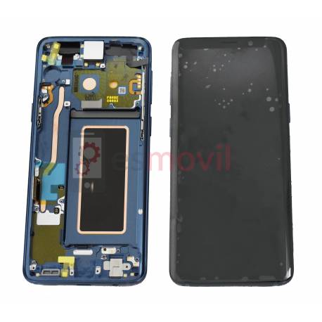 samsung-galaxy-s9-g960f-lcd-tactil-marco-azul-gh97-21696d-service-pack