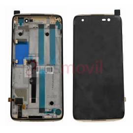 alcatel-one-touch-idol-4-ot6055-lcd-tactil-marco-oro