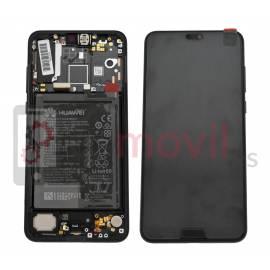 Huawei P20 Pro Display + touch + frame preto original (inclui bateria) Service Pack ( 02351WQK )