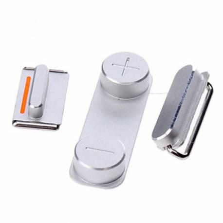 iphone-5s-set-botones-laterales-plata-compatible