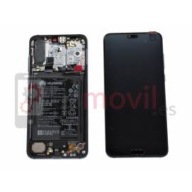 Huawei P20 Pro Lcd + tactil + marco azul original (incluye bateria) Service Pack ( 02351WTP )