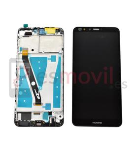 Huawei Y9 2018 Lcd + touch + frame preto compativel