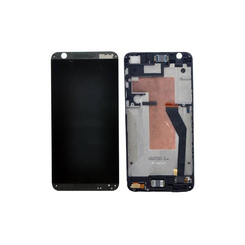 Htc Desire 820 Lcd Tactil Marco Negro