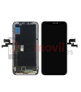 iPhone X Lcd + tactil negro (A1901) compatible HQ