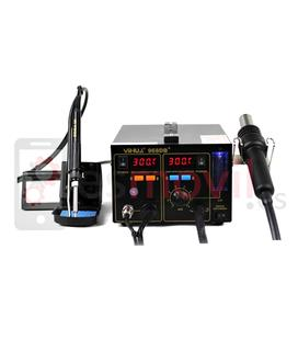 Soldering station with hot air YIHUA 968DB+