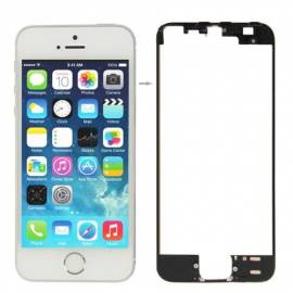 Apple iPhone 5S / SE Marco pantalla tactil negra con pegamento