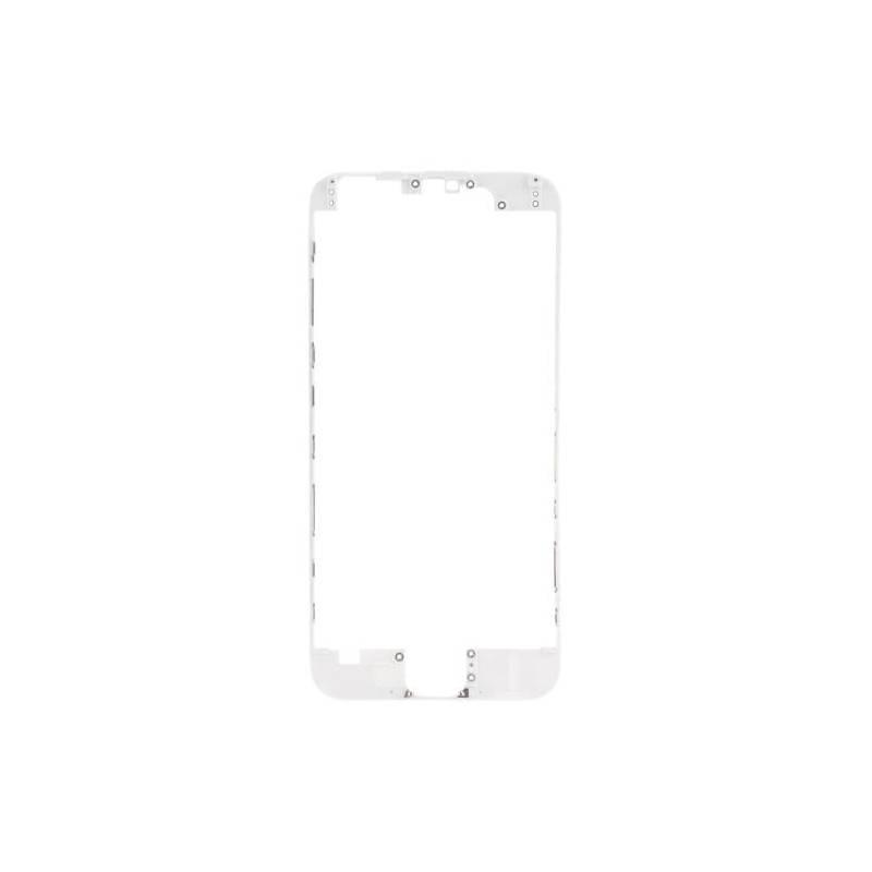 Apple iPhone 6 Marco pantalla tactil blanca con pegamento
