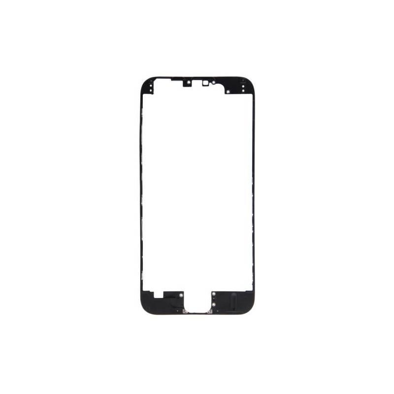 Apple iPhone 6 Marco pantalla tactil negra con pegamento