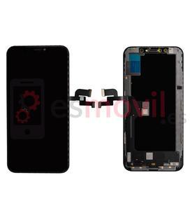 iPhone XS Écran noir (A2097) compatible HQ