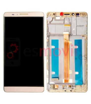 huawei-ascend-mate-7-mt7-tl10-pantalla-lcd-tactil-marco-oro-compatible