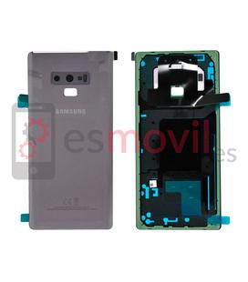 Samsung Galaxy Note 9 N960f Tampa traseira roxa Service Pack