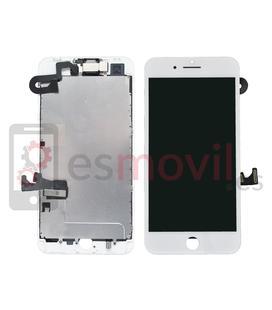 iPhone 8 Plus Lcd + tactile + composants blanc compatible HQ