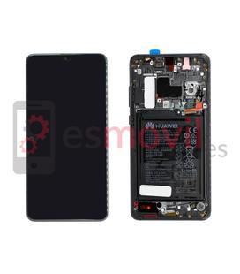 Huawei Mate 20 Display + touch + frame preto original ( inclui bateria ) Service Pack ( 02352ETG )