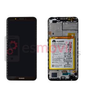 huawei-y7-prime-2018-lcd-tactil-negro-service-pack-incluye-bateria