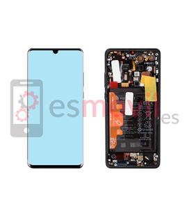 Huawei P30 Pro Lcd + touch preto Service Pack (inclui bateria) 02352PBT
