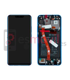Huawei P Smart Plus (Nova 3i) Display replacement blue/purple Service pack (battery included)