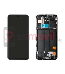 samsung-galaxy-a40-2019-a405f-lcd-tactil-marco-negro-gh82-19672a-service-pack-black