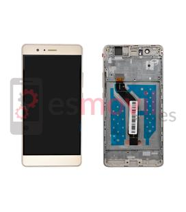 huawei-p9-lite-g9-lite-lcd-tactil-marco-oro-compatible