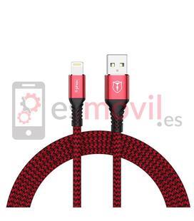 t-phox-jagger-cable-usb-a-lightning-24a-1-m-rojo