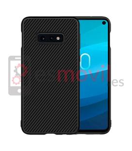 nillkin-synthetic-fiber-samsung-galaxy-s10e-funda-negra
