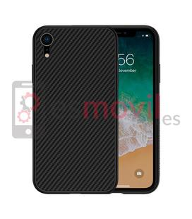 nillkin-synthetic-fiber-iphone-xr-funda-negra