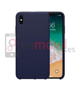 nillkin-flex-pure-iphone-xs-funda-azul