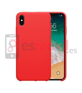 nillkin-flex-pure-iphone-xs-funda-roja