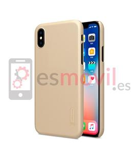 nillkin-funda-super-frosted-shield-matte-iphone-xs-iphone-x-oro
