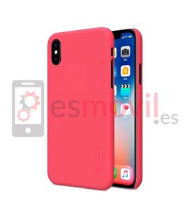 nillkin-funda-super-frosted-shield-matte-iphone-xs-iphone-x-rojo