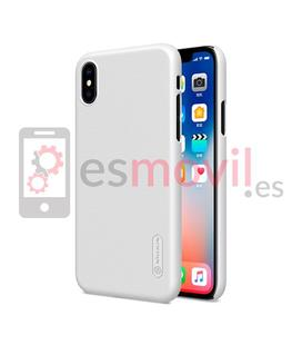 nillkin-funda-super-frosted-shield-matte-iphone-xs-iphone-x-blanco