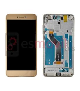 huawei-p8-lite-2017-honor-8-lite-lcd-tactil-marco-oro-compatible