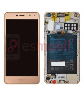 huawei-y5-2017-y6-2017-lcd-tactil-oro-incluye-bateria-service-pack-02351kuk-02351dmf-gold-champagne-gold