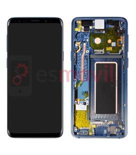 samsung-galaxy-s9-g960f-pantalla-lcd-tactil-marco-azul-coral-gh97-21696e-service-pack-polaris-blue
