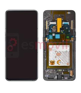 Samsung Galaxy A80 2019 A805f Lcd + tactil negro GH82-20348A / 20390A Service Pack