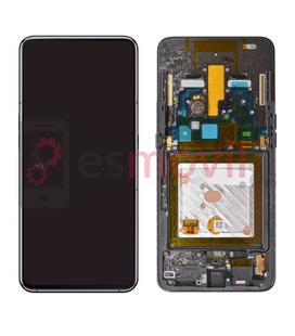 Samsung Galaxy A80 2019 A805f Lcd + touch preto GH82-20348A / 20390A Service Pack