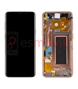 samsung-galaxy-s9-g960f-lcd-tactil-marco-oro-gh97-21696e-service-pack-sunrise-gold