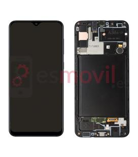 samsung-galaxy-a30s-2019-a307-lcd-tactil-marco-negro-gh82-21190a-service-pack