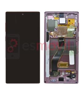 samsung-galaxy-note-10-2019-n970f-lcd-tactil-marco-rosa-gh82-20817f-service-pack-aura-pink