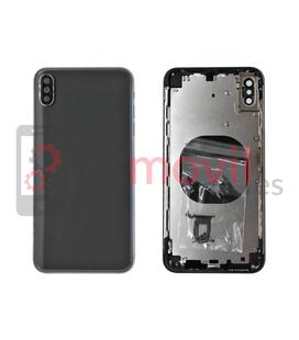 iPhone XS Max Vitre arrière + composants noir compatible