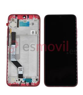 xiaomi-redmi-note-7-lcd-tactil-marco-rojo-compatible-hq