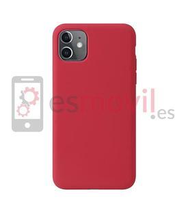 t-phox-funda-de-silicona-iphone-11-rojo