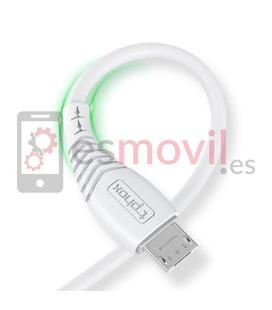 t-phox-nature-cable-usb-a-micro-usb-3a-12-m-blanco
