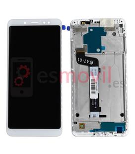 xiaomi-redmi-note-5-lcd-tactil-marco-blanco-service-pack