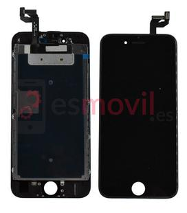 iPhone 8 Plus Lcd + tactil + componentes negro compatible HQ