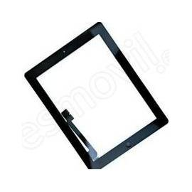 Apple iPad 4 Tactil + boton home negro