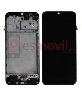 samsung-galaxy-m31-2020-m315-lcd-tactil-marco-negro-gh82-22405a-gh82-22631a-service-pack