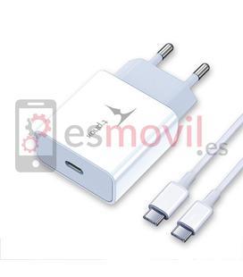 t-phox-power-cargador-cable-de-carga-de-tipo-c-a-tipo-c-18w-1m-blanco
